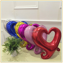 18 inch high quality heart shaped film aluminum balloons ,Manufacturers selling services to support