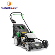 Portable manual ride on electric motor Height Adjustment lawn mower