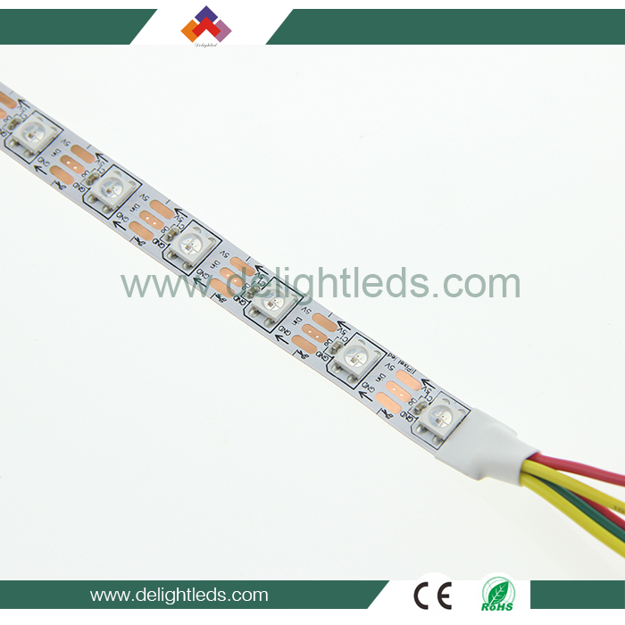 ws2812b 60led m strip,dream color led strip ws2812b