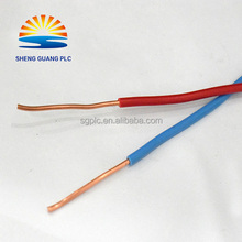 PVC Wire thin Insulated 600v Electric wire cable 4 sq mm copper wire prices