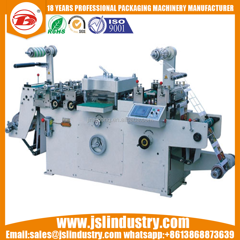 JSL-350A Auto Flatbed Sticker Label Die Cutting Machine Hot Foil Stamping Die-Cutting Machine