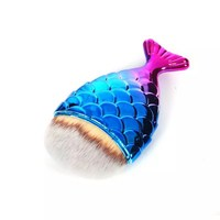 Fish Scale Makeup Brush