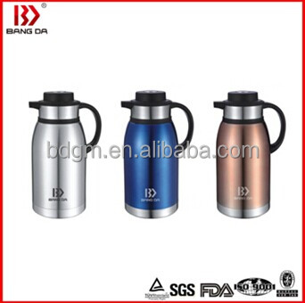 classic double wall stainless steel vacuum coffee pot