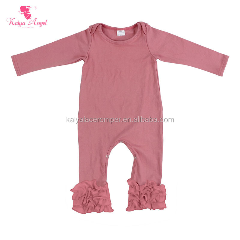 Fall Winter Infant And Toddler Clothing Solid Color Ruffle Bottom ...
