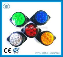 10 inch round 225w led work light with CE certificate ZC-C-013