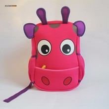New Design Personalized Backpack for Child Animal Cow Backpack Waterproof Boys Girls Kids Backpack Cute School Bag