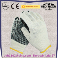 High Performance pvc dotted gloves dots