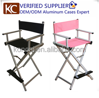 Exquisite workmanship high quality aluminum finished 5 colors can be choose professional makeup station with lights mirror