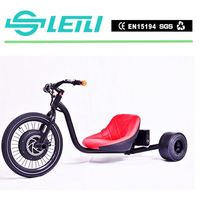 Black 2015 Cargo Electric Trike Trike