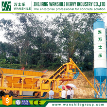 Mixing station 120m3/h concrete batching plant