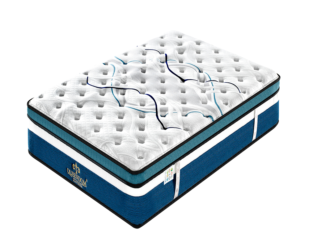 vaccum compressed foam topper commercial comfortable spring mattress - Jozy Mattress | Jozy.net
