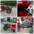 Diesel engine mini corn harvester,corn harvesting machine good price