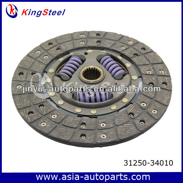 Friction material clutch disc plate 31250-34010 for Toyota 4 Runner