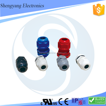 Nylon cable gland mg12 metric gland plastic hose cable connector