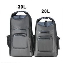 Pictures of promotion luxury foldable flat dry bag fashion hand sport backpack duffel travel bag