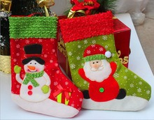 Wholesale hot sale Christamas socks for Christmas gift and decoration