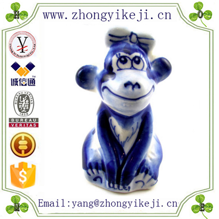 factory custom made handmade carved hot new product resin monkey symbol 2016 year