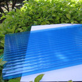 anti-uv PC hollow sheet twin wall,colored competitive price polycarbonate hollow sheets