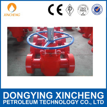 Flat Gate Valve Using for Casing Head Assembly