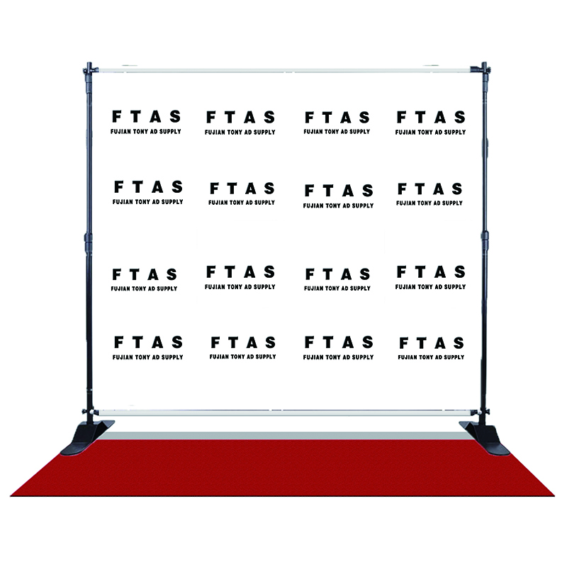Easy Moving Aluminium Alloy Step And Repeat Banner Stand