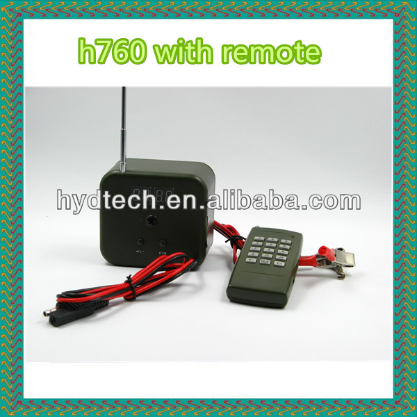 Animal mp3 sounds with wireless remote control