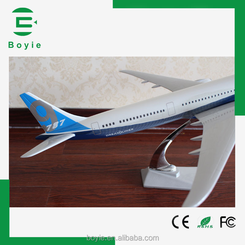 Boyie gifts resin crafts handmade excellent 75CM1 30 custom flying model aircraft for gift