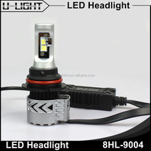 Ulightcn newest CR XHP50 chips 9007/9004 led headlight bulbs 70W 6000lm 9004/9007 LED Car headlamp Bulb