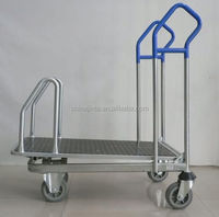 expansion link shopping cart with cooler bag with chair
