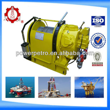 API certificated 10T Cable Pulling air winch hoist