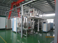 Plastic dehumidifying drying system for PET cast film extrusion