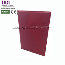 Lowest Price zipper organiser a4 executive conference folder best quality