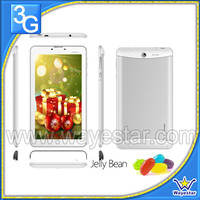 Ultra Thin 7 inch Dual Core MTK6577 Tablet 3G GSM Tablet 2 Cameras