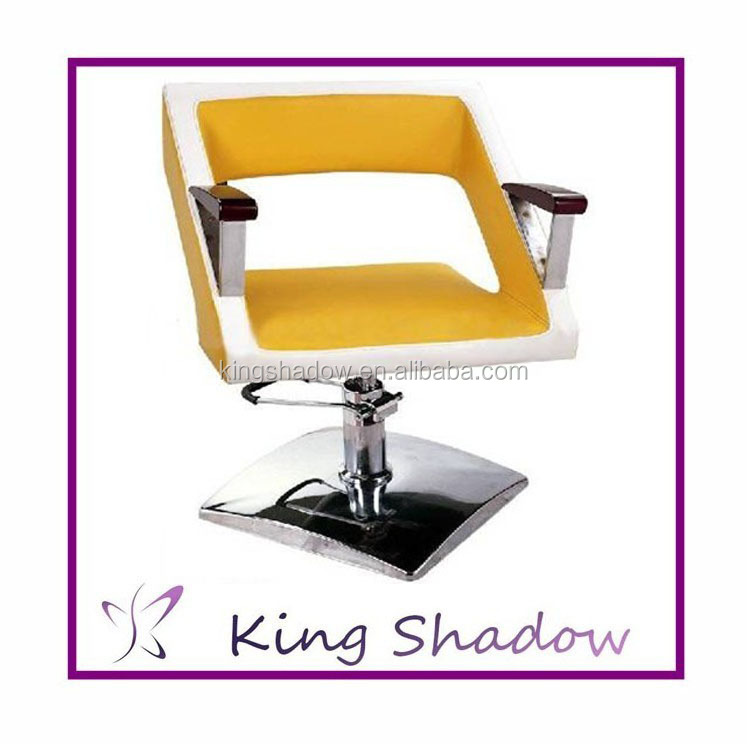 2016 Kingshadow yellow barber chair hair salon styling chair hairdresser chair in promotion