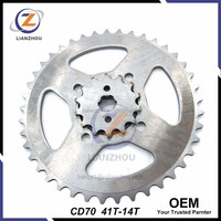 for Honda Motorcycle Spare Parts OEM CD70 Sprocket