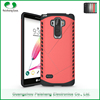 Newest mobile accessories 6 colors hybrid 2 in 1 combo dual layer phone back cover case for LG g4 stylus