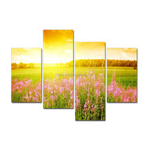 2015 Natural Canvas Prints From Your Photos Poppy Canvas Painting For Home Decor