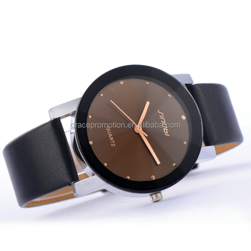 2016 New Design Fashion Man Style Charm Wrist Watch With Free Sample