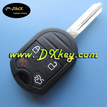 Hot-sale 4 button car key for ford edge key remote key ford 433mhz without chip