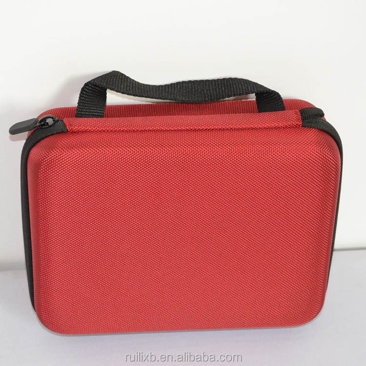RLSOCO Gopros camera case EVA camera bag Extreme Sports Red Gopros case/bag