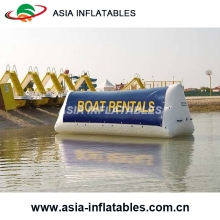 Inflatable Water Advertising Screen , Inflatable Floating Billboard with Printing