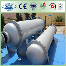 High oil yield solid waste equipment