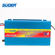 Suoer USB Car Charger 12V 30 Amp Auto Battery Charger
