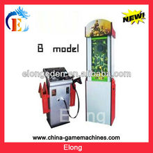 The table tennis game laser video shooting simulator game machine