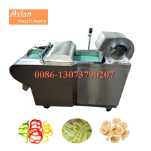 automatic potato zigzag shredder cutter/plantain chips slicer/potato dicing shredding machine