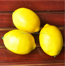 Wholesale good price artificial fruit lemon for decorative New Year