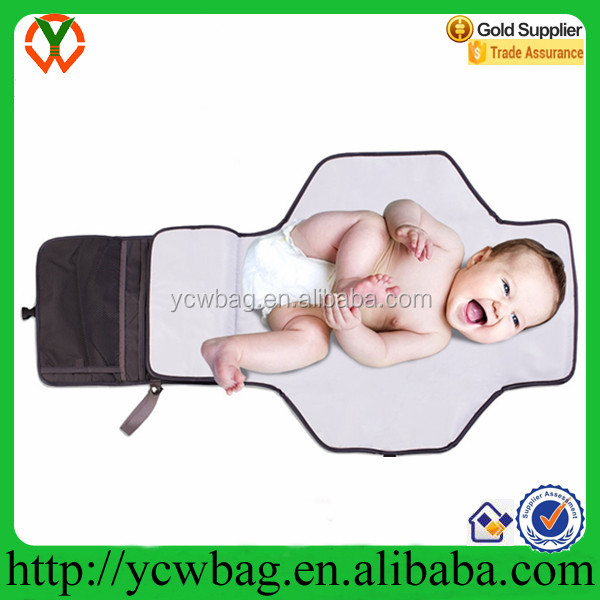Portable Travel Baby Changing Mat Diaper Clutch Bag