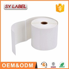 factory custom ISO14001 Blank Shipping Labels direct thermal printer labels