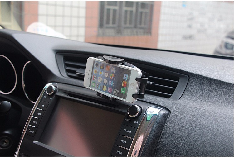 Universal Car Air Vent Mobile Phone Mount Stand Car Phone AINIMOR Holder For iPhone Samsung Galaxy GPS