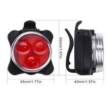 USB Rechargeable Bike LED Bicycle Tail Light