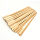 Disposable natural heat resistant 40 cm flat bamboo skewers for BBQ/Fruit Sticks